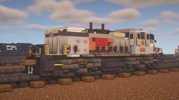 """Kansas City Southern - EMD MP15 """"Gray"""" Minecraft Map & Project"""