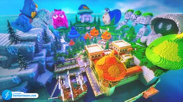 Magical Shipyard Spawn Minecraft Map & Project