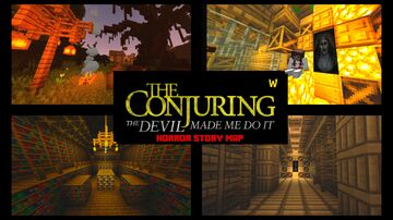 The Conjuring: Expedient Warren (HORROR STORY) Minecraft Map & Project