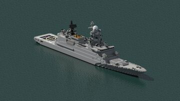 destroyer class H-247.21 Minecraft Map & Project