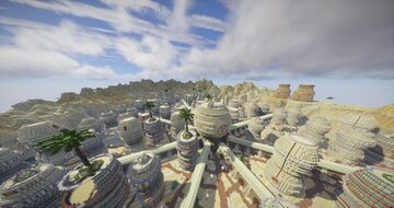 ShippudenWorld | Sunagakure no Sato | NarutoCraft Minecraft Map & Project