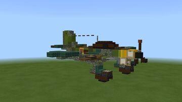 Junkers JU-87 Stuka Minecraft Map & Project