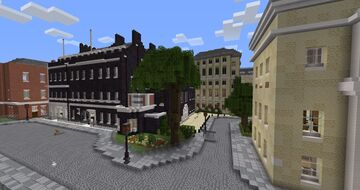 Downing Street & Cabinet Office Minecraft Map & Project