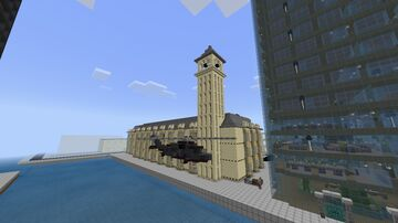 Houses of Parliament, London Minecraft Map & Project