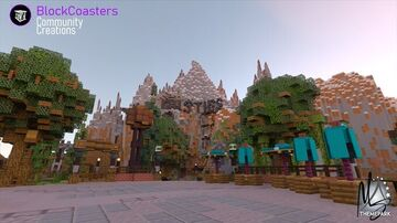 Mountain Springs Theme Park Minecraft Map & Project