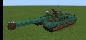 T28/T95 GMC (1.5:1 scale) Minecraft Map & Project
