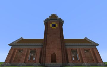 Simple Train Station with Subway Minecraft Map & Project