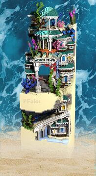 Waiting for the flood - Plot N°2 by Folos Minecraft Map & Project