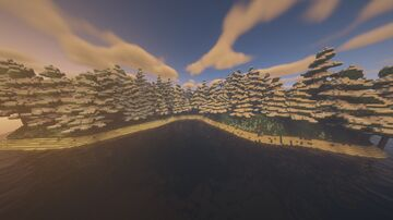 Large Island  Survival 2000x2000 Minecraft Map & Project