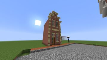 Dutch Town House Minecraft Map & Project