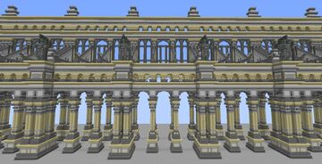 Colonnade fantasia Minecraft Map & Project