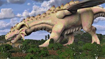 Albino Dragoness Minecraft Map & Project