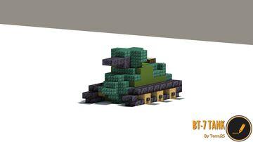 BT-7 TANK Minecraft Map & Project
