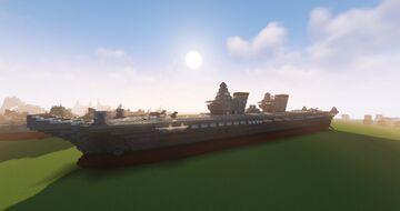 Basilissa Olga Class Light Aircraft Carrier (Fictional) Minecraft Map & Project