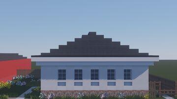 Ул. Ленина 101, Далматово. / 101 Lenin St., Dalmatovo. Minecraft Map & Project