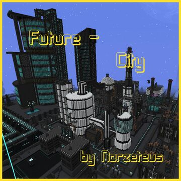 Norzeteus Future-City Minecraft Map & Project