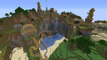 Gargamel seed: City build Minecraft Map & Project