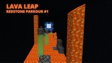 Redstone Parkour- Lava Leap Minecraft Map & Project