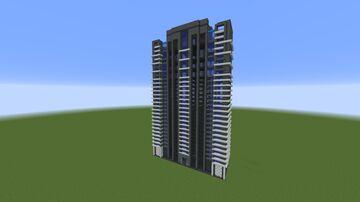 Morden Apartment Skyscraper Minecraft Map & Project