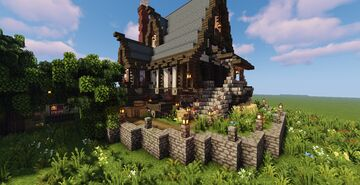 Medieval house by ninjakiller160 1.16.5 Minecraft Map & Project