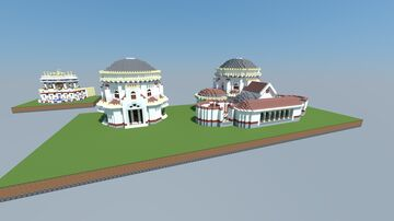 Temple of Minerva Medici Minecraft Map & Project