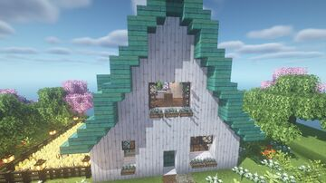 Azure Bluet Cottage Minecraft Map & Project