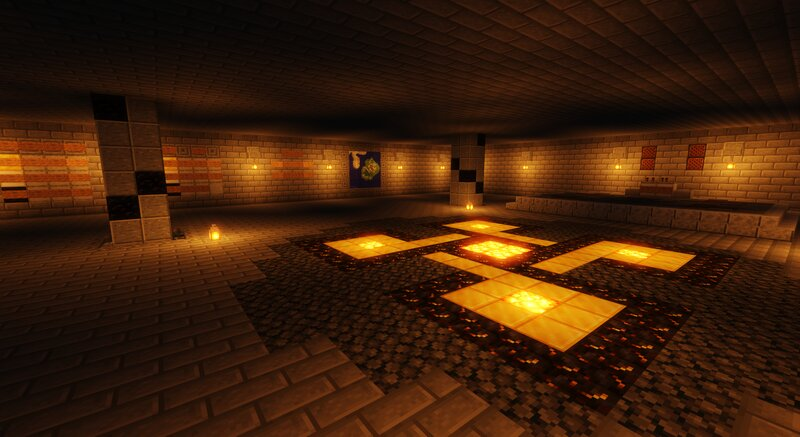The spawn is made to get some info for the visitors, some maps and a disco and dance floor in the right corner!