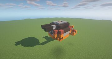 IST  -  Adjustable Naval TNT Cannon ( Scattershot | Turret | Movecraft Compatible | Naval ) Minecraft Map & Project