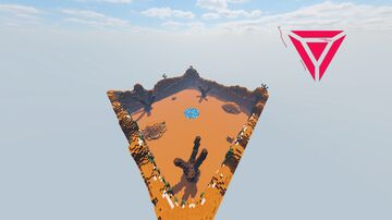 Sahara Arena Map [FREE DOWNLOAD] Minecraft Map & Project