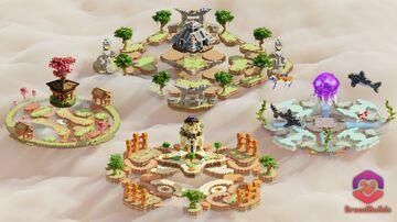 4 KnockbackFFA Maps Minecraft Map & Project