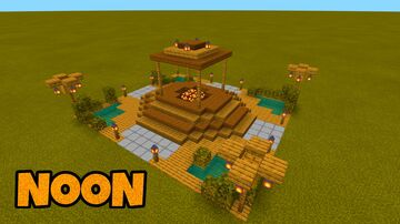 Lobby Natural for small server Minecraft Map & Project