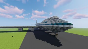 PAN American 747-100 - Tomconn Vehicle Contest Minecraft Map & Project
