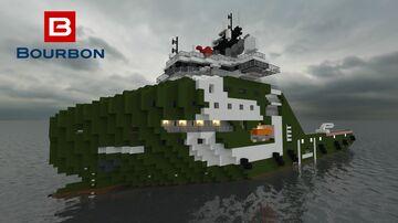 Bourbon Arctic [1:1 Scale] Minecraft Map & Project
