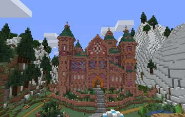 Siberian Manor Minecraft Map & Project