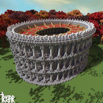 Roman Amphitheater +tutorial Minecraft Map & Project