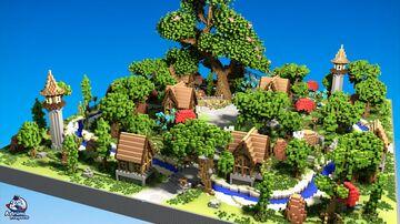 Medieval Fantasy - HCF Spawn Minecraft Map & Project