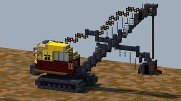 Bucyrus Erie 22B, shovel [With Download] Minecraft Map & Project