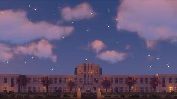 Toyosato former elementary school Minecraft Map & Project