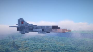 1.5:1 Scale Mikoyan-Gurevich MiG-23 Flogger Minecraft Map & Project