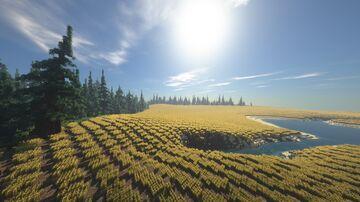 Nonnren (3k x 3k) Minecraft Map & Project