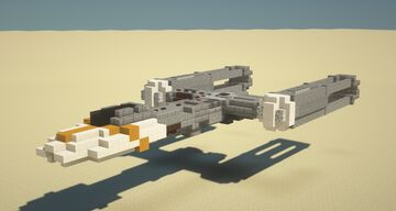 Rebel Y-Wing Minecraft Map & Project