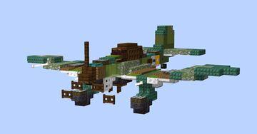 Junkers Ju 87B-2 Stuka Minecraft Map & Project