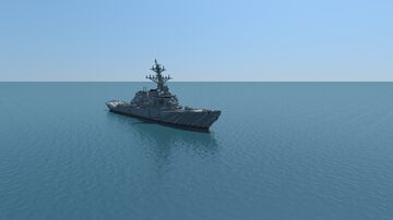 Arleigh Burke-class destroyer DDG 51 Minecraft Map & Project