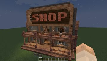 Copper/Gold/Iron Shop - Wild² West Theme - [World Download] Minecraft Map & Project