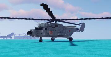 "Mil Mi-6 ""Hook"" (1.5-1 Scale) Minecraft Map & Project"