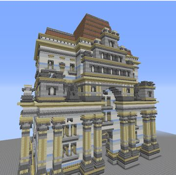 German renassiance guild hall Minecraft Map & Project
