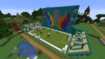 Euro 2020 @ Enviro Minecraft Map & Project