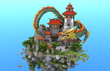 💗 Spawn / Lobby / Hub | SkyBlock, Survival, Factions! Minecraft Map & Project