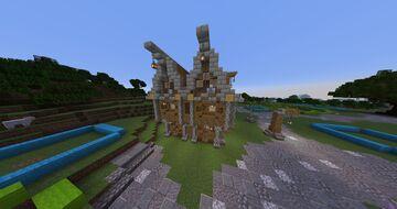 Médiévale House (maison Médiévale ) Minecraft Map & Project