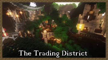 Gundahar's Worldtree - The Trading District Minecraft Map & Project